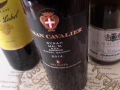 World-class Syrah wine from Malta